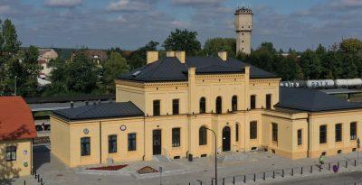 Dworzec PKP w Starogardzie Gd.
