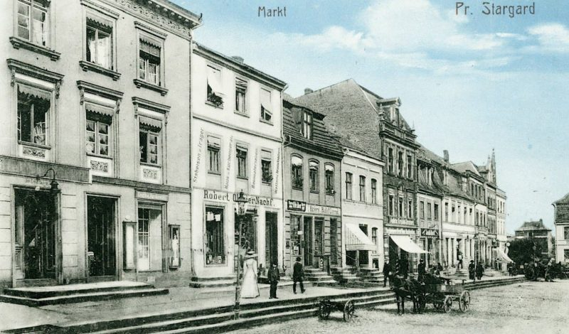 Rynek Starogard Gdański old