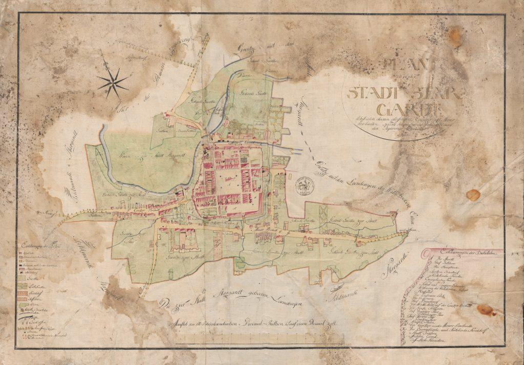 Mapa Starogardu