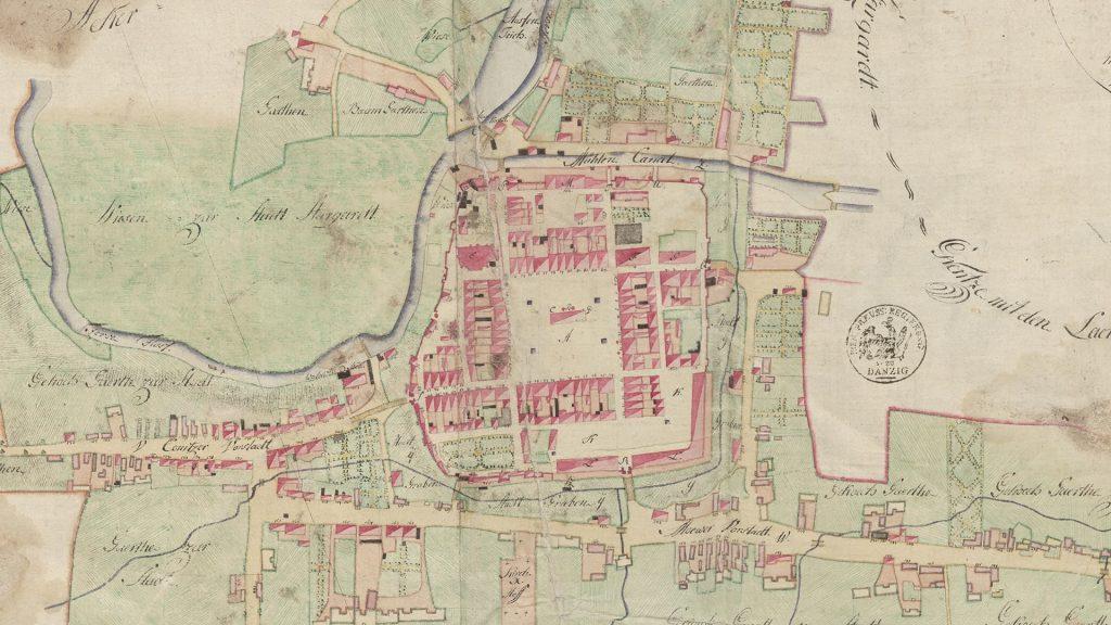 Plan miasta Starogard