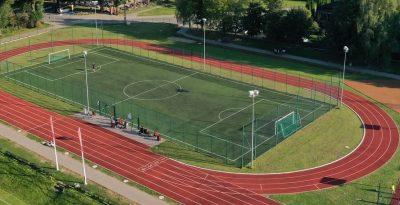 Kompleks sportowy w Lubichowie