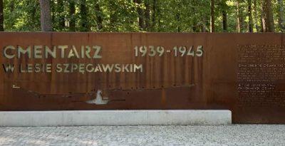 Cmentarz w lesie Szpęgawskim