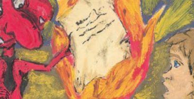 Cyrograf z diabłem za majątek w Kopytkowie
