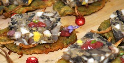 Kociewski salceson z grzybów