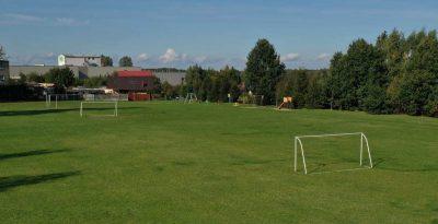 Boisko piłkarskie nowa wieś w Starogardzie Gdańskim