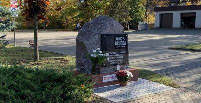 Pomnik Andrzeja Grubby- Starogard Gdański