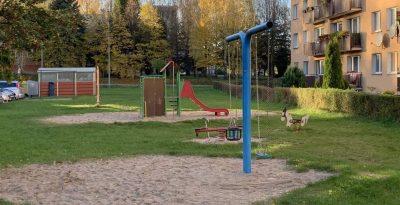 Plac zabaw os Szumana- Starogard Gdański