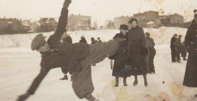 Starogard na łyżwach -1936