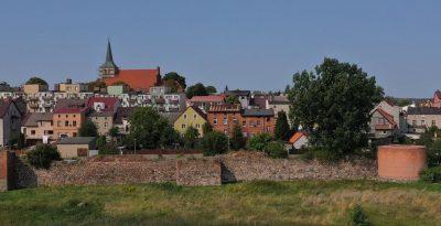 Mury obronne w Skarszewach