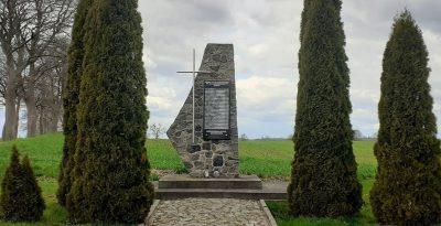 Pomnik ofiar II wojny światowej - Rzeżęcin