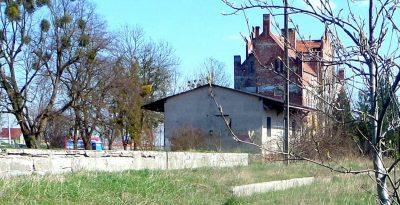 Dworzec kolejowy - Gniew