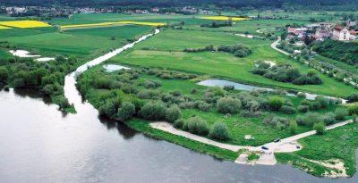 rzeka Wierzyca ujście do Wisły
