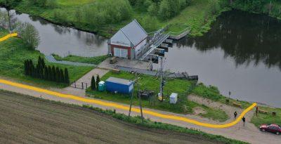 Elektrownia Wodna - Klonówka