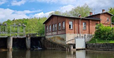 Elektrownia wodna Czarnocińskie Piece