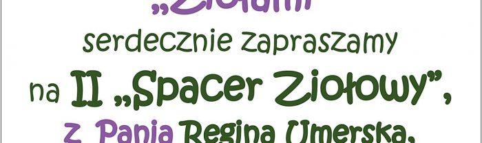 II Spacer Ziołowy z Reginą Umerską